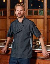 Chefs Zip-Close Short Sleeve Jacket